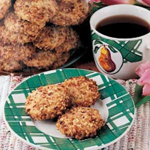 Scandinavian Pecan Cookies Recipe