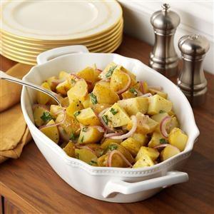Lemon-Basil Roasted Potatoes Recipe