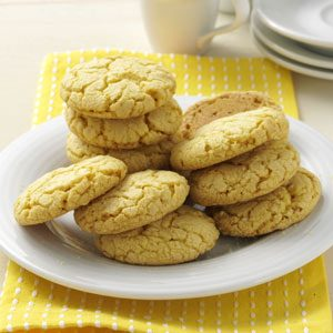 Lemon Crisp Cookies