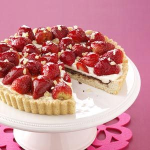 Strawberry Ginger Tart Recipe