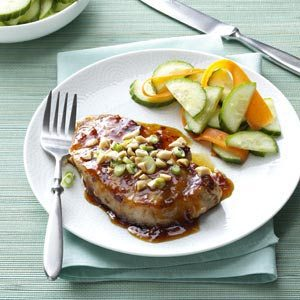 Pork Chops with Apricot Glaze Recipe