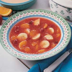 Summer Fruit Soup Recipe