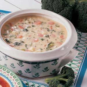 Garden Vegetable Chowder Recipe