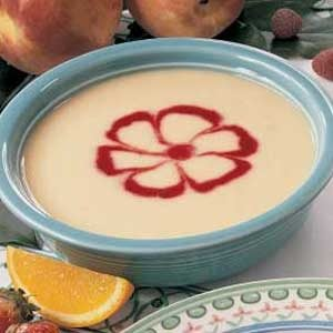 Pretty Peach Soup Recipe