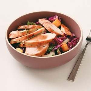 Chicken and Asian Slaw Recipe
