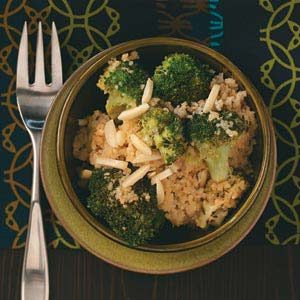 Lemon Couscous with Broccoli Recipe
