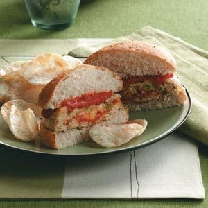 Stuffed Pizza Burgers Recipe photo by Taste of Home