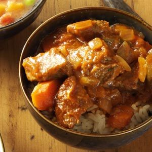 Sweet-and-Sour Beef Stew Recipe