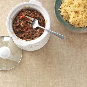 Sweet and Savory Pulled Beef Dinner Recipe