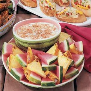 Tropical Fruit Dip Recipe
