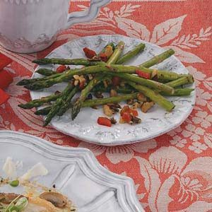 Herbed Fresh Asparagus Recipe