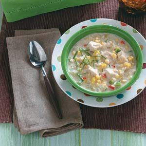 Best-Ever Chicken Fajita Chowder Recipe