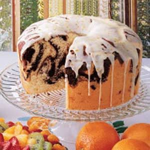 Moist Marble Chiffon Cake Recipe