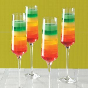 Tropical Rainbow Dessert Recipe
