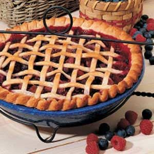 Triple Fruit Pie Recipe
