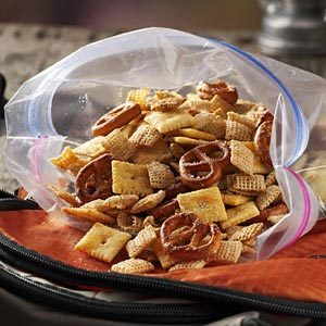 Italian Parmesan Snack Mix Recipe