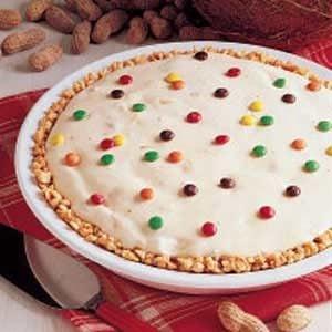 Peanutty Ice Cream Pie Recipe