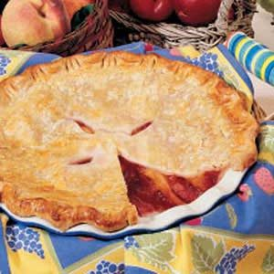 Peach Plum Pie Recipe