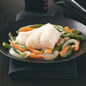 Cod & Vegetable Skillet for Two
