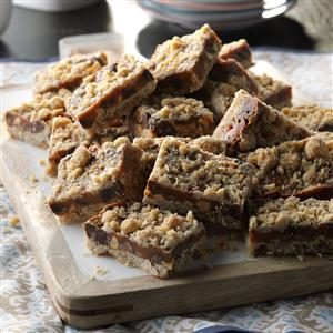 Caramel Peanut Bars Recipe