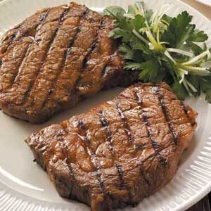 Marinated Ribeyes Recipe