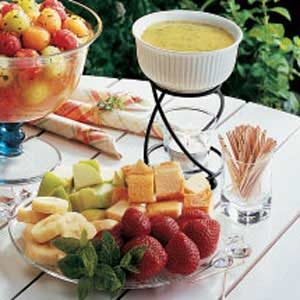 Mint Fondue Recipe