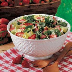 Strawberry Tossed Salad Recipe