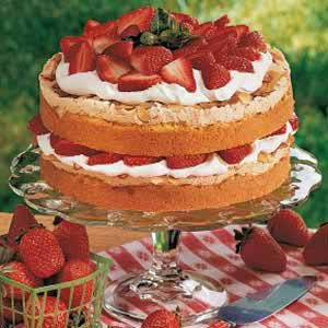 Special Strawberry Torte Recipe photo by Taste of Home
