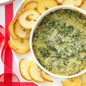 Baked Creamy Spinach Dip Recipe