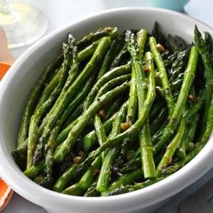 Lemon-Roasted Asparagus Recipe