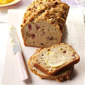 Strawberries 'n' Cream Bread Recipe