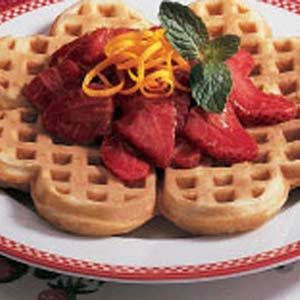 Strawberry Breakfast Sauce Recipe