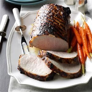 Grilled Dijon Pork Roast Recipe