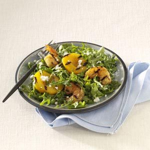 Shrimp Salad with Peaches Recipe