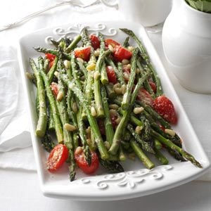 Tuscan-Style Roasted Asparagus Recipe