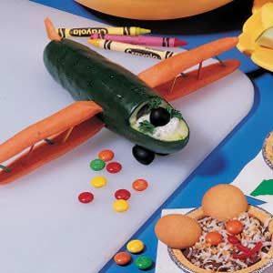 Cucumber Biplane Recipe