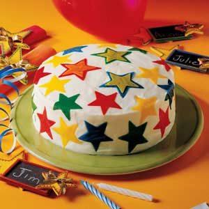 Sweet Stars Cake Recipe