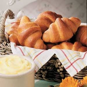 Chili Cornmeal Crescents Recipe