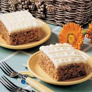 Orange Zucchini Cake Recipe