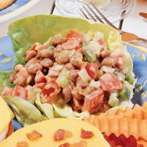 Pork 'n' Bean Salad Recipe