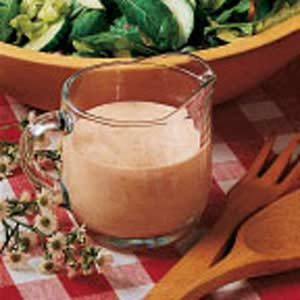 Creamy Garlic French Dressing Recipe