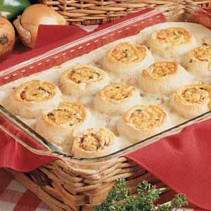 Tuna Bake with Cheese Swirls Recipe