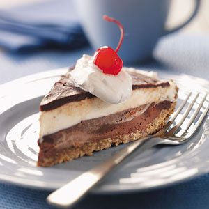 Black-Bottom Ice Cream Pie Recipe