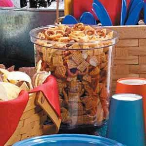 Cajun Party Mix Snack Recipe