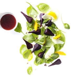 Spinach Beet Salad Recipe