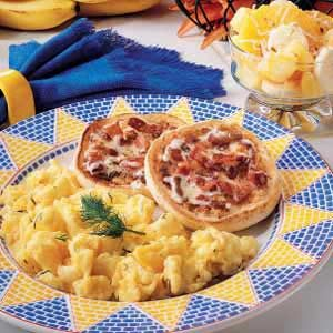 English Muffins with Bacon Butter Recipe