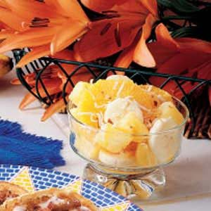 Ambrosia Fruit Cups Recipe