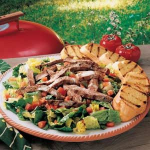 Easy Sirloin Caesar Salad Recipe