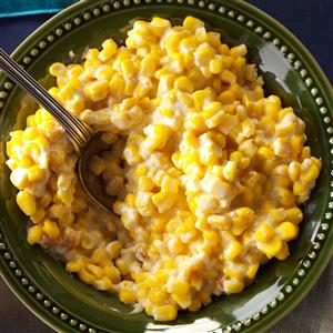 Cheesy Slow-Cooked Corn Recipe