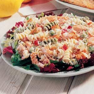 Dilled Salmon Pasta Salad Recipe